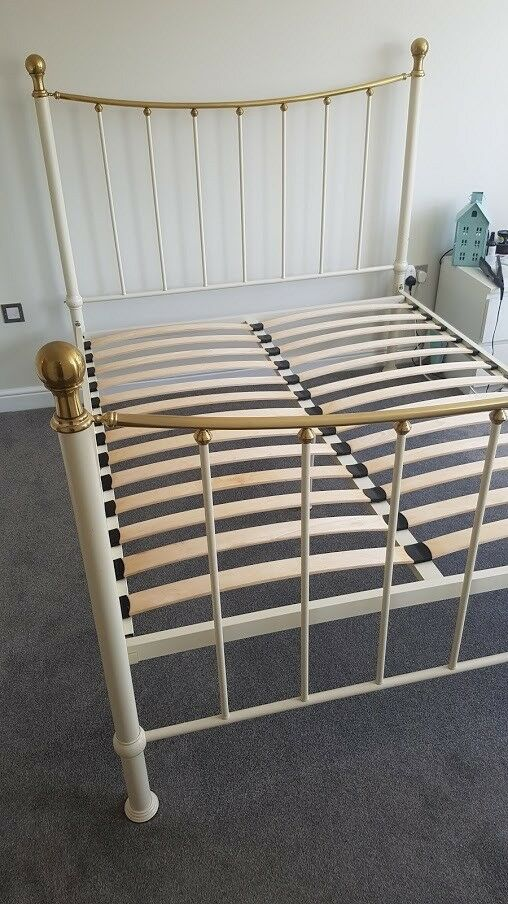 King Size Metal Bed Frame Adjustable Height In Woking Surrey