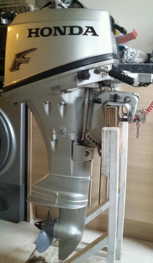 Honda 6hp outboard engine motor BF6B tiller 4 stroke shortshaft 17