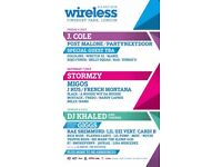 2 Wireless tickets (Friday only)