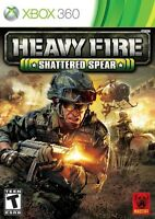 xbox 360 game - Heavy Fire : Shattered Spear
