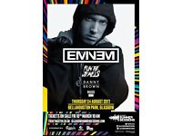 Eminem Ticket Bellahouston Park 24 August