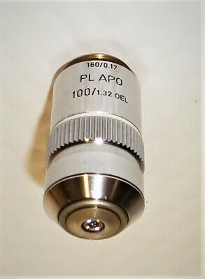 Leitz Wetzlar Microscope Plan Apo 100x Oil Immersion Objective