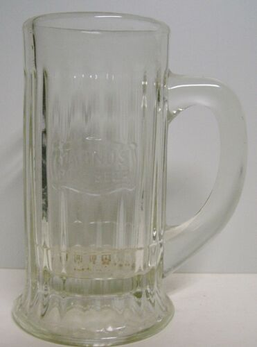 Circa 1910 Magnus Root Beer Glass Mug