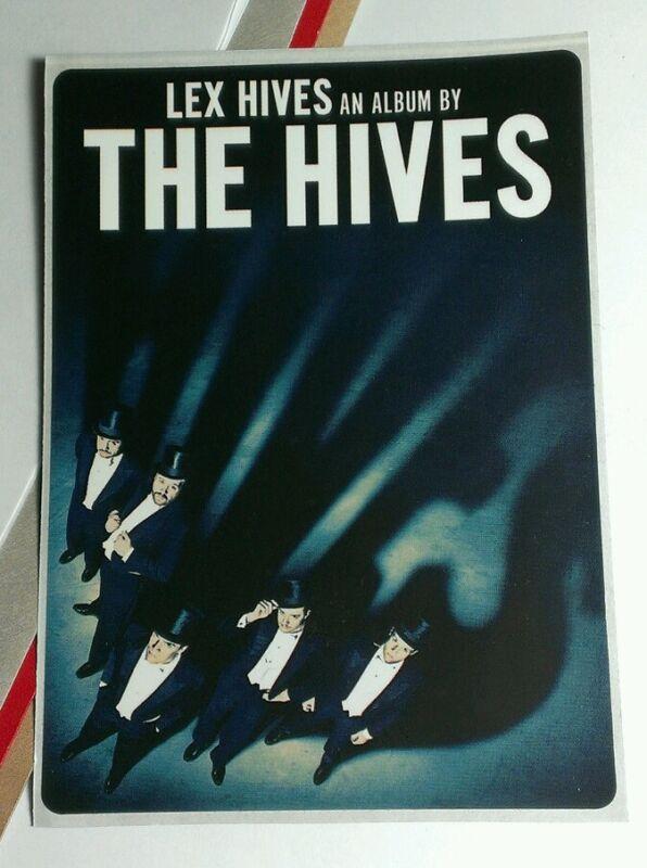 THE HIVES LEX HIVES MUSIC RARE STICKER
