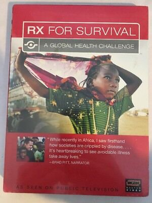 NEW - RX for Survival - A Global Health Challenge SEALED Brad Pitt (Rx For Survival A Global Health Challenge)