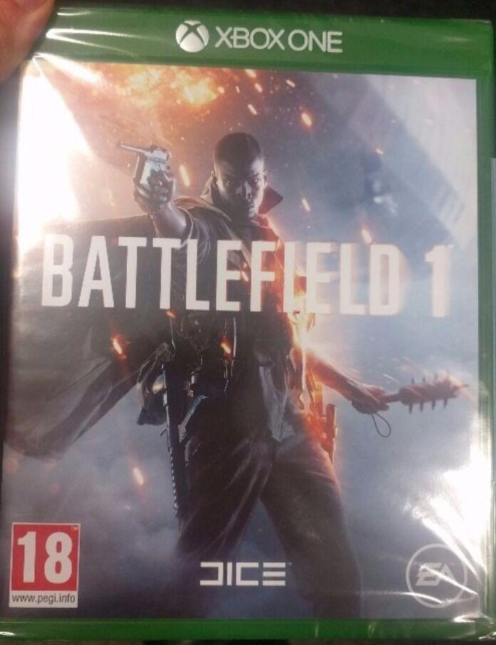 Battlefield one, new (Xbox one)