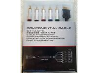 Sony Component AV Cable for connecting PS2/PS3 to compatible HD TV's