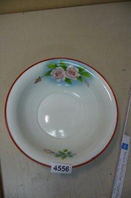 4556. Alte Emaille Email Schüssel Old enamel bowl