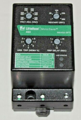 Littelfuse 460 MotorSaver 3-Phase Voltage Monitor