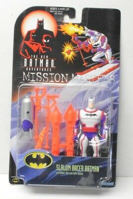 Slalom Racer Batman Mission Masters Batman Action Figure Hasbro 1998 ()