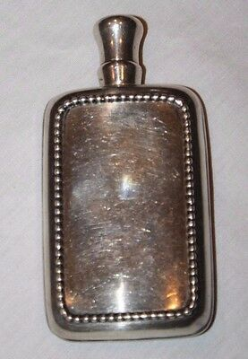 Gorgeous Antique Sterling Silver Flask by Frank M. Whiting Co.
