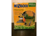 Hozelock Flood Pump 8000LPH - BNIB