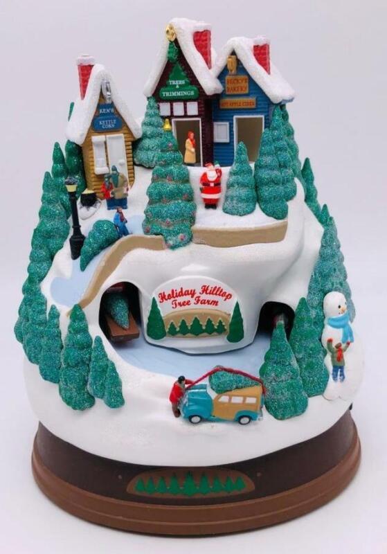 2009 Holiday Hilltop Tree Farm Hallmark Ornament Magic