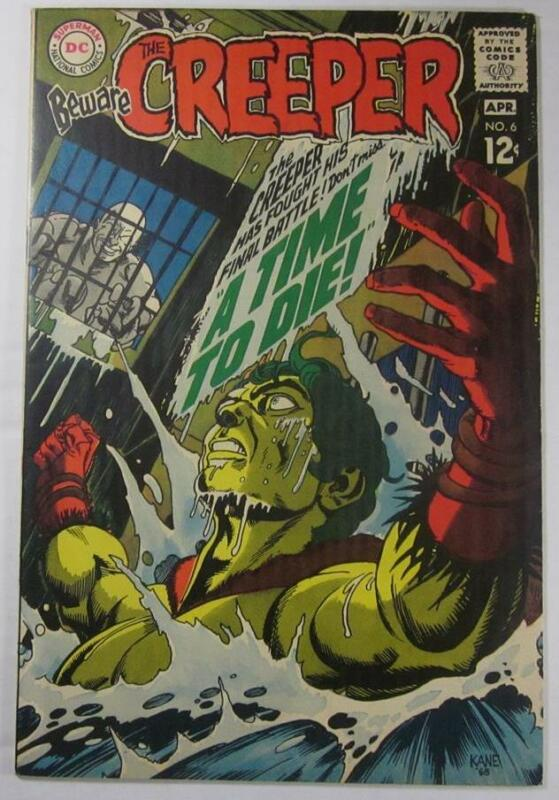 BEWARE THE CREEPER #6 APR 1969 DC COMIC STEVE DITKO VF/NM 9.0