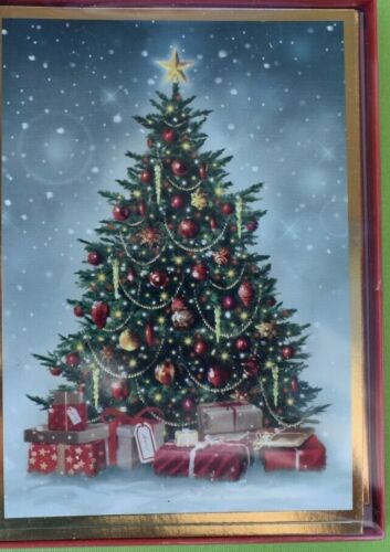 Boxed Set of 12 Christmas Cards with Envelopes