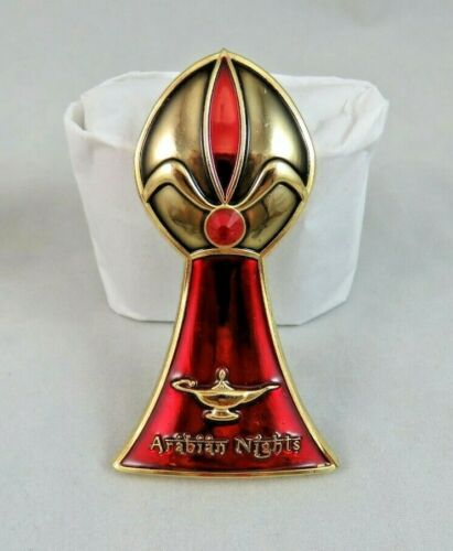 Disney Fantasy Pin Eau De Villain Perfume Bottle Arabian Nights Jafar Aladdin