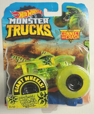 Hot Wheels Monster Trucks SHARK WREAK Sick Stuff 5/5