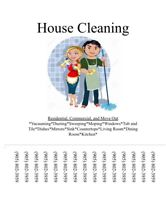 Start Up Cleaning Business