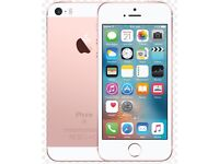Brand new in box and sealed Unlocked iPhone SE 16GB rose gold