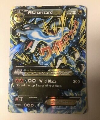 2014 Pokemon XY M CHARIZARD EX Holo Flashfire Ultra Rare 69/106 MINT