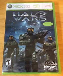 Xbox 360 Halo Wars version française Brand New Factory Sealed