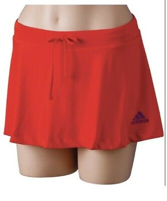 Adidas Tennis Women Red And Purple Skort Size L RRP £24.99
