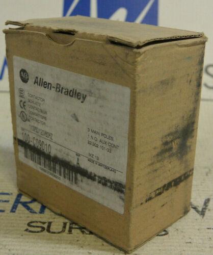 Allen-Bradley 100-C09D10 Ser. A Contactor 110V50/120V60HZ *NEW