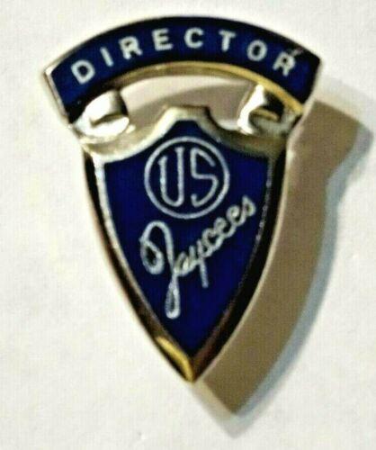 JAYCEES ~ NATIONAL JAYCEES DIRECTOR ~ LAPEL / TIE TACK