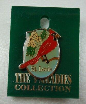 VTG St. Louis State Cardinal Lapel Pin Tackback Nature Paradies Collection ()