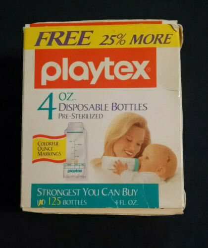 Playtex  125 - 4oz. Disposable Bottle Liners