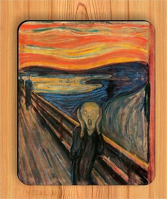 THE SCREAM OF NATURE ART BY EDVARD MUNCH MOUSE PAD -sln8Z Munch Art Mouse Pad