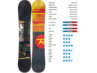 Rossignol Taipan 2015 Snowboard 160 cm - Nearly new