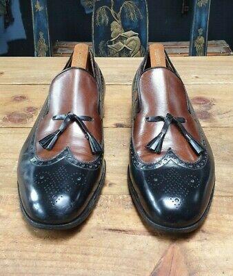 J.M. Weston - Tassel Loafers Black & Brown - US 10