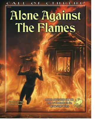 Call of Cthulhu 7th Edition RPG - Alone Against the Flames - Adventure Call Of Cthulhu Rpg Adventures