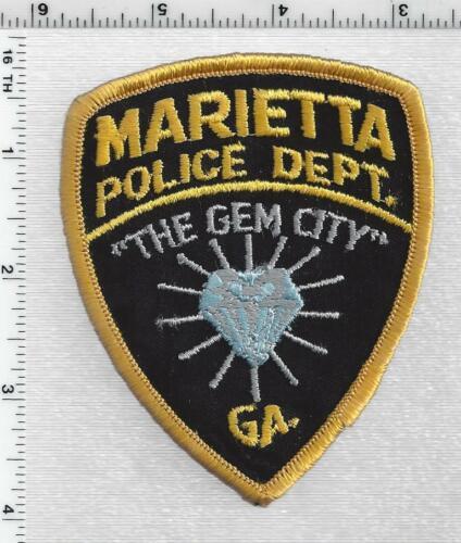 Marietta Police (Georgia) 1st Issue Cap/Hat Patch