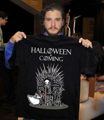 Jack Skellington Halloween is coming Shirt M/F -nightmare before halloween shirt (Is Halloween)