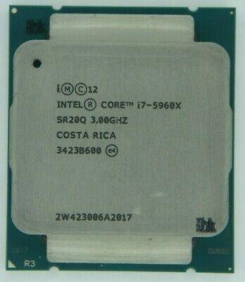 Intel Core i7-5960X 3.0GHz 8-Core SR20Q (CM8064801547964) Processor w/Grease