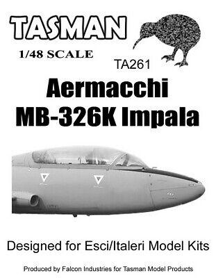 Tasman 1/48 Aermacchi MB-326K Impala Canopy for Esci/Italeri kits