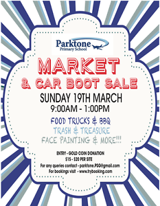 Parktone Primary Market and Car Boot Sale Parkdale Kingston Area Preview