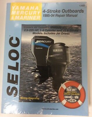 SELOC 1705 Service Manual - Yamaha Mercury Mariner 4-stroke Outboards 1995-2004