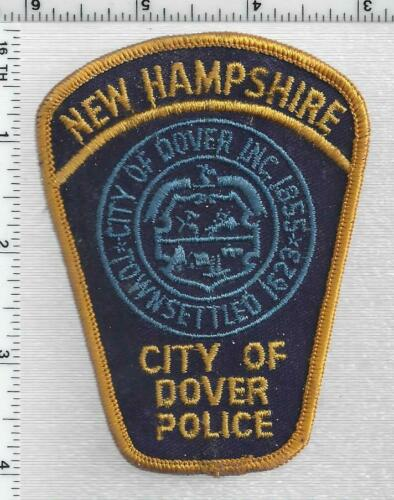 City of Dover Police (New Hampshire) 2nd Issue Shoulder Patch