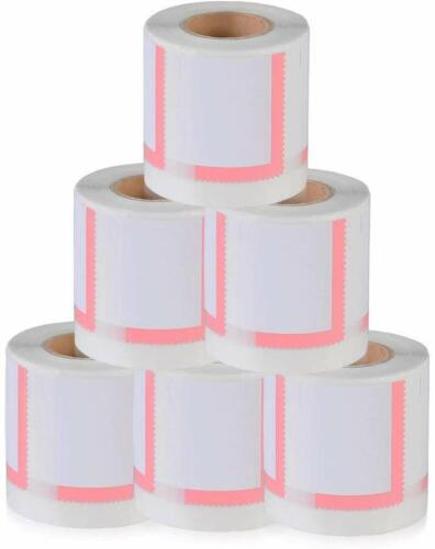 6 JUMBO Rolls (700 each) Dymo 30915 Compatible  Endicia Internet Postage Stamps
