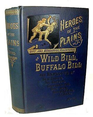 1882 Wild Old West INDIAN WAR Gun Fighters BUFFALO BILL Hickok KIT CARSON Custer
