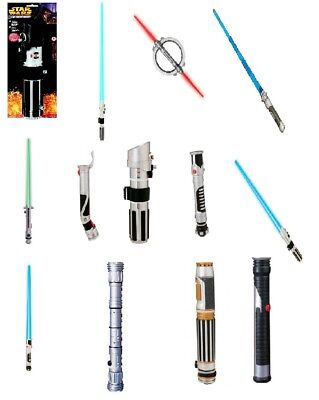 Star Wars Lightsabers (Choose Your Character) Movies TV Prop Toy Fun Costume