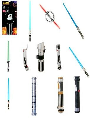 star wars lightsabers choose your character movies