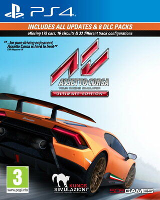 Assetto Corsa Ultimate Edition (PS4)