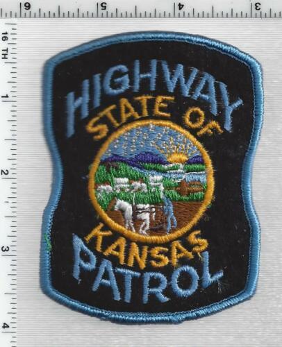 Highway Patrol (Kansas) 3rd Issue Shoulder Patch