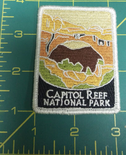 New Traveler Series Embroidered Patch - Capitol Reef National Park - Utah -