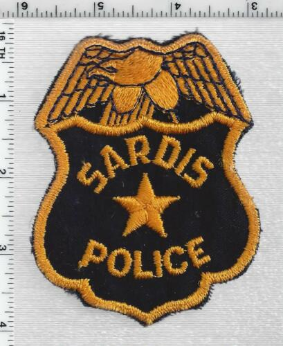 Sardis Police (Georgia) 2nd Issue Shoulder Patch