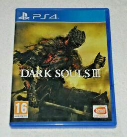 SONY PLAYSTATION PS4 GAME DARK SOULS 3 III BANDAI NAMCO EMBRACE THE DARKNESS PAL